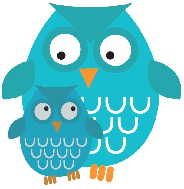Tämän kuvan alt-attribuutti on tyhjä; Tiedoston nimi on Pikku-pöllö-ja-iso-pöllö.jpg